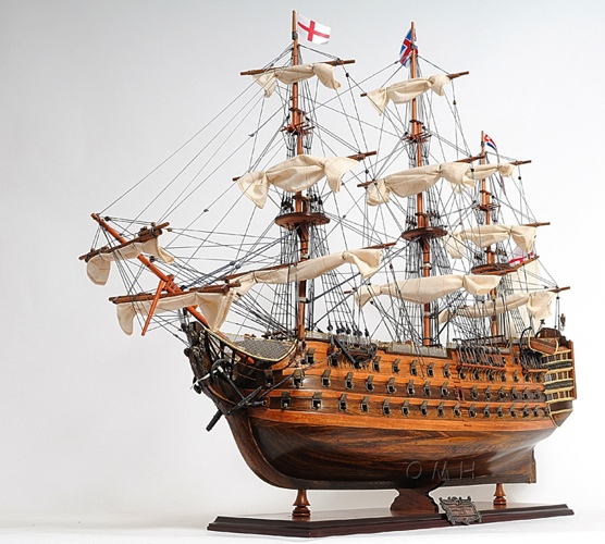 hms victory exclusive edition omh handcrafted model war ship military models t034 from. Black Bedroom Furniture Sets. Home Design Ideas