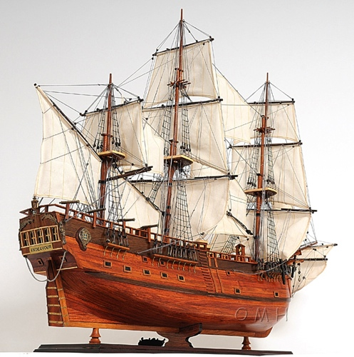 hms endeavour omh handcrafted model exploration ships t094 from. Black Bedroom Furniture Sets. Home Design Ideas