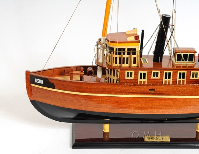 seguin omh handcrafted model steamboat tug boat models b046 from. Black Bedroom Furniture Sets. Home Design Ideas