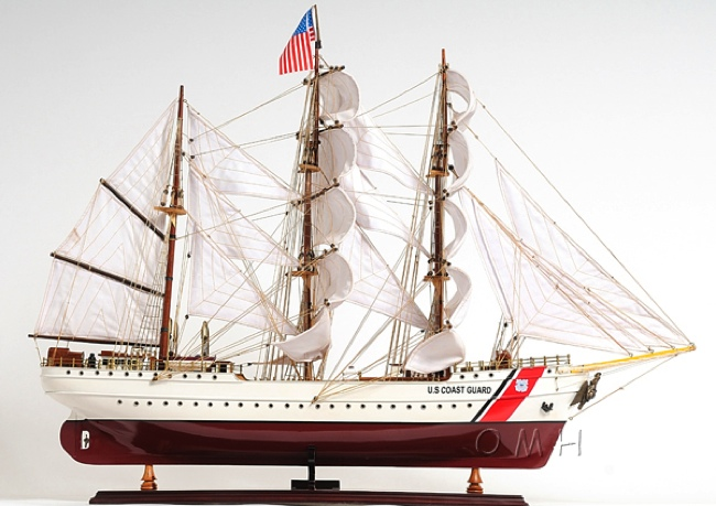 us coast guard eagle e e omh handcrafted model training ship models t209 from. Black Bedroom Furniture Sets. Home Design Ideas