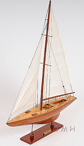 Columbia Yacht L Omh Handcrafted Model Racing Boat Models