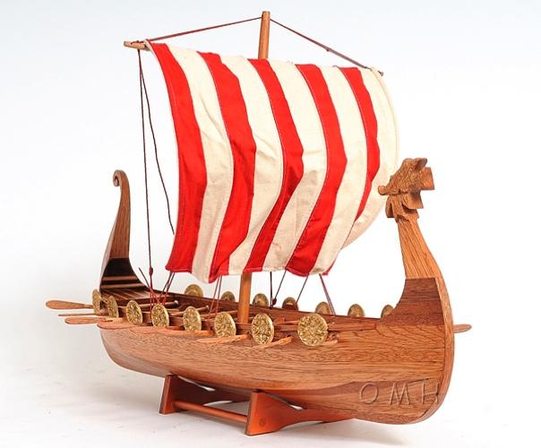 Drakkar Viking OMH Handcrafted Model, Exploration Ships, B028 From EastWave.com