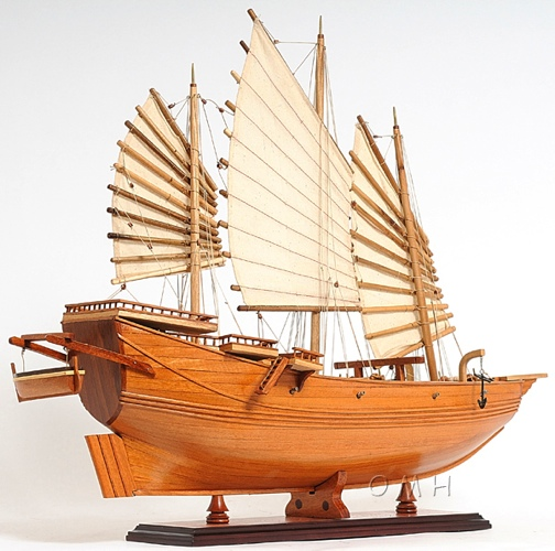 Chinese Junk Model Plans Model Chinese Junk Omh