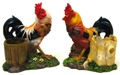 Rooster Toothpick Holder 2 Assorted