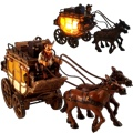 Western Cowboy `Gus` Stagecoach Nightlight