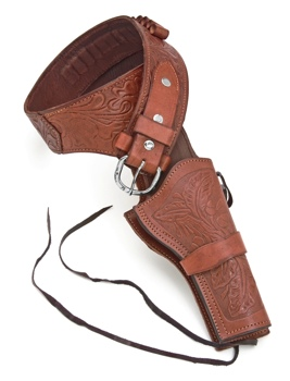 Deluxe Tooled Brown Western Holster