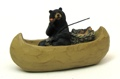 Resin Bear Fishing
