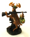 Deer Gets Hunter Figure