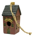 Resin Americana House Birdhouse