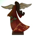 Wood Angel Tablepiece