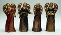 Large Bright Angel Figurine Set of Four