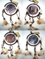 Wildlife Indian Dreamcatcher Mandela Set of 4