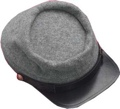 Civil War Confederate Enlisted Kepi Gray Without Insignia
