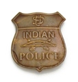Indian Police Badge