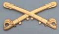 Brass Cavalry Insignia For Civil War Kepi