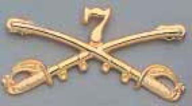 General Custers 7Th Cavalry Insignia