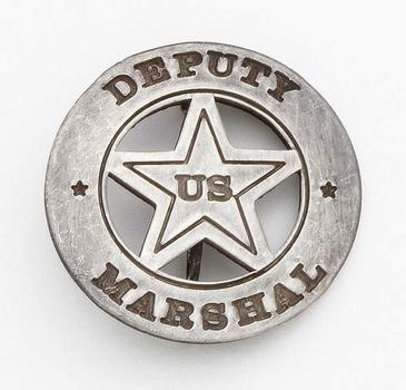 U.S. Deputy Marshall Circle Badge