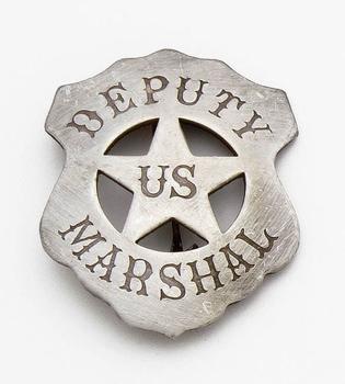 U.S. Deputy Marshall Shield Badge