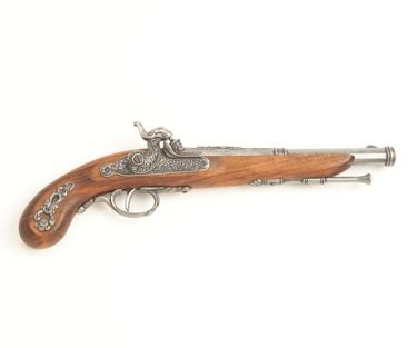 1872 French Percussion Pistol Non Firing Replica Gun