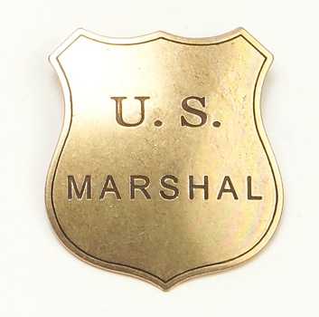 Old West Replica Marshall Badge From Denix