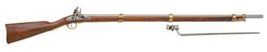 Charleville Rifle With Bayonet - American Revolutionary War Non Firing Replica Gun