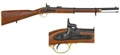 Civil War Musketoon - Enfield 1860 Non Firing Replica Gun