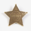 Lincoln County Sheriffs Badge