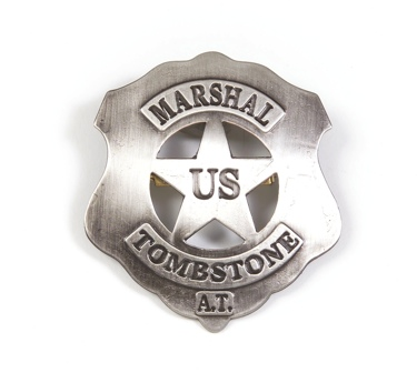 U.S. Marshal - Tombstone Replica Badge