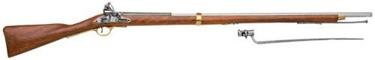 Brown Bess Rifle With Bayonet Non Firing Replica Gun