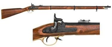 Civil War Musket - 3 Band Enfield Non Firing Replca Gun