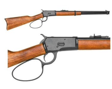 M1892 Western Rifle With Loop Lever Black Finish Non Firnig Replica Gun
