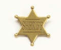 Replica Sheriff Star Badge From Denix