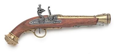 Replica 18Th Century Blunderbuss Flintlock Pistol Non Firing Replica Gun