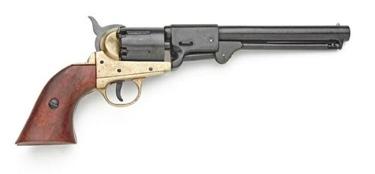 Griswold & Gunnison Confederate Pistol Brass Frame Non Firing Replica Gun