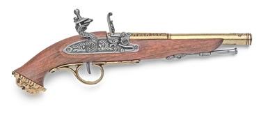 18Th Century Replica Pirate Flintlock Pistol Non Firing Replica Gun