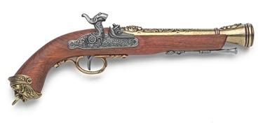 19Th Century Italian Replica Blunderbuss Percussion Pistol Non Firing Replica Gun