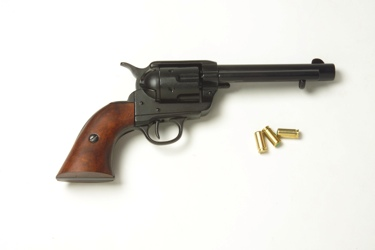 Old West Frontier Replica Revolver Non Firing Replica Gun Black Finish