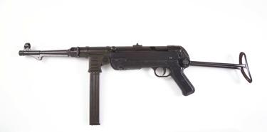 German Wwii Submachine Gun Non Firing Replica