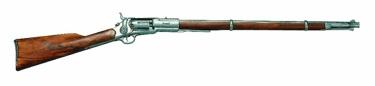 Us Revolving  Percussion Rifle Non Firing Replica Gun
