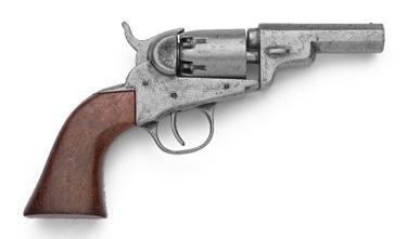 M1849 Pocket Old West Revolver Non Firing Replica Gun