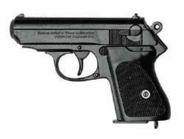 Bond Semi Automatic Pistol Black Finish Non Firing Replica Gun