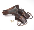 Old West Double Rig Holster With Replica Bullets