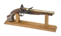 Stand For George Washington  Long Barrel Flintlocks