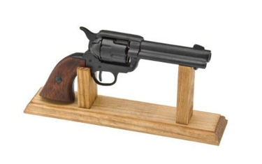 Stand For Fast Draw Western Pistols