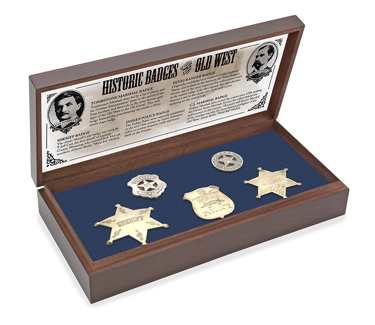 Old West Badge Collection - Boxed Set