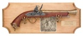 Pirate Framed Set Non Firing Replica Gun
