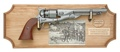 Civil War U.S. Framed Set Non Firing Replica Gun