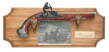 George Washington Collection Framed Set Non Firing Replica Gun