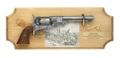 Deluxe Gettysburg Framed Set Non Firing Replica Gun