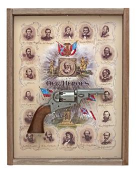 Confederate Generals Barnwood Set